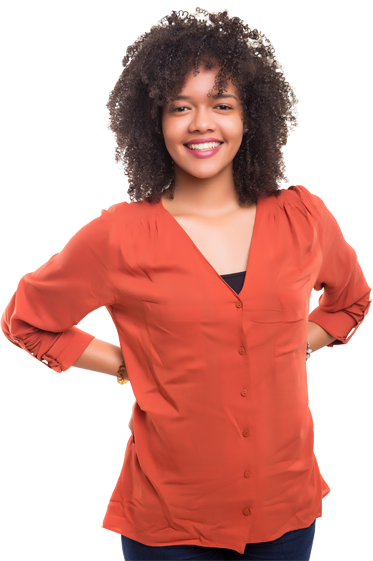 STEM Customer Service Woman