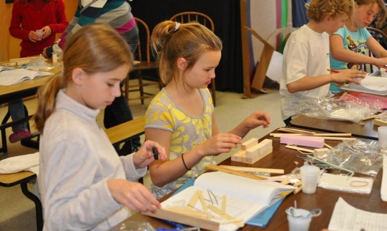 Students applying higher order thinking skills