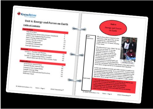 5th Grade STEM Curriculum Next Generation Science Standards