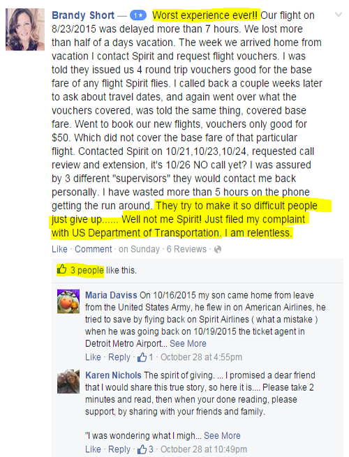 Boycott Spirit Airlines