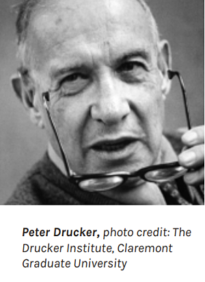 Peter Drucker on business management