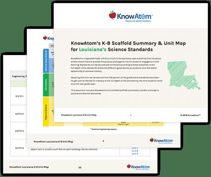 Louisiana Curriculum Scaffold Summary & Unit Map